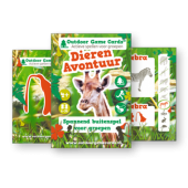 Dierenavontuur - Outdoor Game Cards