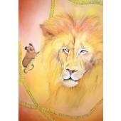 Kaart - De Leeuw en de Muis