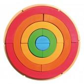 Bouwset Regenboogcirkel