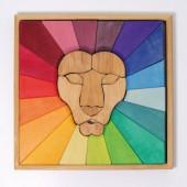 Bouwset - Regenboog Leeuw