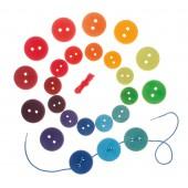 Rijgspel - Regenboogknopen
