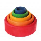 Stapelbakjes - Regenboog