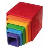 Stapelblokken Vierkant - Groot