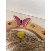 Keramieken Steker - Vlinder