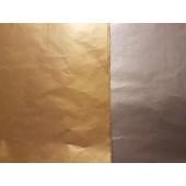 Knutselpakket - Zijdevloei Zilver/Goud - 10 vel