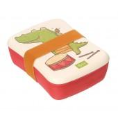 Bamboe Broodtrommel - Krokodil