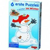 6 eerste puzzels - In de winter