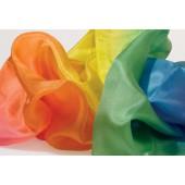 Sarahs Silk - Zijde Speeldoek - Regenboog