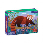 Mini Puzzel - Red Panda