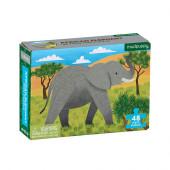 Mini Puzzel - African Elephant