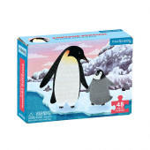 Mini Puzzel - Emperor Penguin