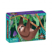 Mini Puzzel - Three-Toed Sloth
