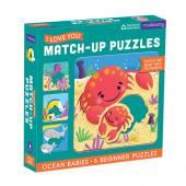 Match-Up Puzzel - Ocean Babies