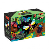 Glow in Dark Puzzel - Amazing Insects