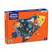 300 stukjes Shaped Puzzel - Outer Space