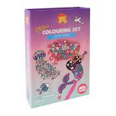 Glitter Colouring Sets - Ocean Dreams