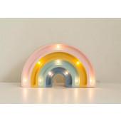 Lamp - Regenboog - Mini - Retro