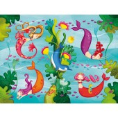 24-delige Mini Double Fun - Zeemeerminnen (mermaids)