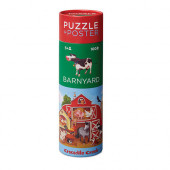 Puzzel en Poster - Boerderij - 100 stukjes