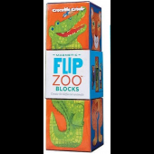Magnetische Puzzelblokken - Regenwoud Dieren - 3 stuks (Flip Zoo Blocks)