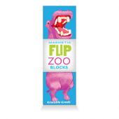 Magnetische Puzzelblokken - Wereld Dieren - 3 stuks (Flip Zoo Blocks)