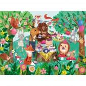 50-delige Puzzel in koker - Tuinfeest (Garden Party)