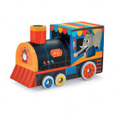 Puzzel en Speel - Trein - 24 stukjes