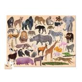 100-delige Puzzel - Wilde Dieren (Wild Animals)