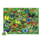 100 stukjes Puzzel - 36 Butterflies