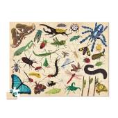 100-delige Puzzel - Insecten