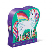 36 stukjes - Shaped Puzzel - Unicorn Dreams
