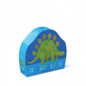 12 stukjes - Mini Puzzel - Stegosaurus