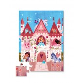24-delige Mini Puzzel - Kleine Prinses (Little Princess)