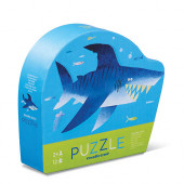12 stukjes - Mini Puzzel - Haai
