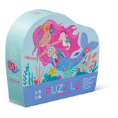 12 stukjes - Mini Puzzel - Zeemeermin Droom