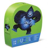 12 stukjes - Mini Puzzel - Go Gorilla