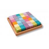 Blokkenset - 36 Kubussen - Pastel
