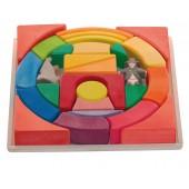 Blokkenset Circus - Regenboog