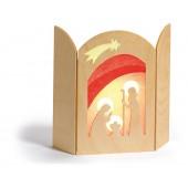 Silhouet - Geboorte van Jesus