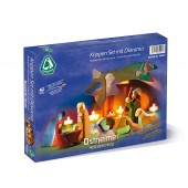 Kerststal - 11-delig - met Diorama