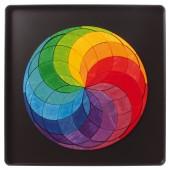 Magneetspel - Regenboogspiraal