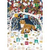 Kaart - Adventkalender - Frosty Forest