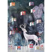 Kaart - Adventkalender - Hert