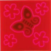 Reflecterende kinderstickerset Vlinder