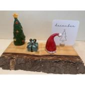 Keramieken Steker - Kerstmuts