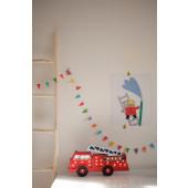 Lamp - Brandweerauto - Rood