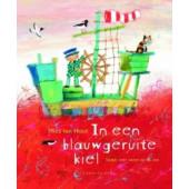 In Een Blauwgeruite Kiel - Kartonboek met CD