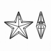 Swarovski Kristal - Vijfpuntige Ster - 20 mm