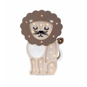 Lamp - Leeuw - Koffiebruin