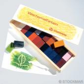 Bijenwasblokjes - 24 kleuren